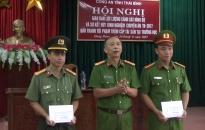Công an tỉnh Thái Bình: Khen thưởng các đơn vị triệt xóa đường dây ma túy lớn