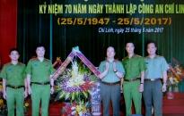 Thị xã Chí Linh, Hải Dương: Bước chuyển mới về ANTT 6 tháng đầu năm