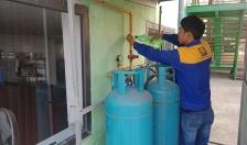Công ty TNHH Gas Petrolimex Hải Phòng: Bảo dưỡng miễn phí dàn bình 48kg tại các trường học