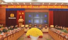 Hội nghị trực tuyến báo cáo thông tin về Luật CAND (sửa đổi)