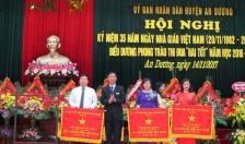 Huyện An Dương biểu dương phong trào thi đua Hai tốt