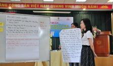 Nữ công nhân lao động học cách nhận biết hành vi quấy rối tình dục