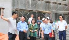 Phó Chủ tịch Lê Khắc Nam kiểm tra Dự án đầu tư xây dựng, sửa chữa trường THPT Ngô Quyền