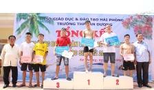 90 học sinh tham gia giải bơi hè năm 2019