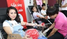 Huy động được hơn 20.000 đơn vị máu trong 9 tháng