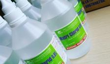 Không nên lạm dụng nước muối sinh lý