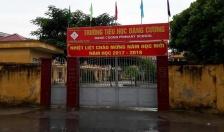 Đang xác minh vụ cô giáo Trường tiểu học xã Đặng Cương bị hành hung