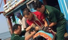 Đồn biên phòng Đồ Sơn: Cứu một ngư dân gặp nạn trên biển