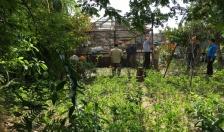 Đảm bảo ANTT thi công xây dựng tường rào Làng Việt Kiều theo chỉ giới dự án