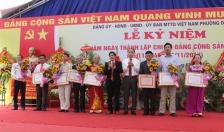 Phường Đa Phúc (Dương Kinh): Kỷ niệm 70 năm ngày thành lập Chi bộ Đảng cộng sản đầu tiên