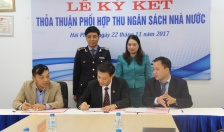 Ký thỏa thuận phối hợp thu ngân sách nhà nước