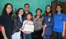 Chi Đoàn thanh niên Sở KH&ĐT hỗ trợ học sinh nghèo