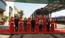 Khai trương tuyến tàu hàng chuyên tuyến Hải Phòng – Khai Viễn (Trung Quốc)