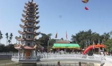 Khánh thành tháp 9 tầng Đền Nghè Mỹ Giang
