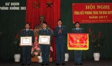 """Sư đoàn Phòng không 363: 14 tập thể được tặng danh hiệu """"Đơn vị quyết thắng"""""""