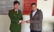 Công an phường Dư Hàng, Lê Chân: Trao trả tài sản cho người đánh rơi