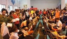 Lễ hội xuân hồng - Chủ nhật đỏ năm 2018: Thu hút hơn 1000 người tham gia hiến máu tình nguyện