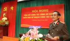 Công an tỉnh Thái Bình triển khai kế hoạch công tác công an năm 2018