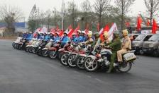 Quận Hồng Bàng & Cty TNHH TM Hương Giang: Ra quân đảm bảo TTATGT