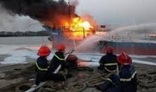 Cảnh sát PCCC Hải Phòng: Thư cám ơn các đơn vị phối hợp chữa cháy tàu Hải Hà 18