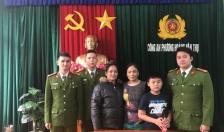Công an phường Hoàng Văn Thụ (Hồng Bàng): Giúp cháu bé đi lạc tìm người nhà