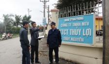 """Cty TNHH MTV Khai thác công trình Thủy lợi Thủy Nguyên: Điểm sáng trong phong trào """"Toàn dân bảo vệ ANTQ"""""""