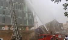 Diễn tập phương án chữa cháy tại tòa nhà SHP Plaza