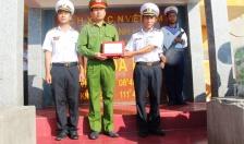 CATP Hải Phòng thăm, tặng quà quân dân huyện đảo Trường Sa, Nhà giàn DK1