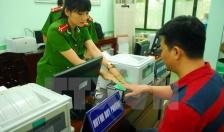 Công an quận Đồ Sơn cấp 1.096 căn cước công dân