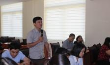 Đại biểu HĐND TP tiếp xúc cử tri tại nơi công tác