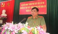 Thiếu tướng Đỗ Hữu Ca - Giám đốc CATP tiếp xúc cử tri