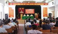 Tiếp xúc cử tri tại quận Hải An