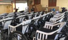 Huyện Vĩnh Bảo:  Tiếp nhận 63 xe lăn tặng người khuyết tật