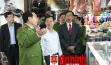 Cảnh sát PCCC thành phố: Siết chặt quản lý an toàn PCCC tại các chợ trong cao điểm nắng nóng