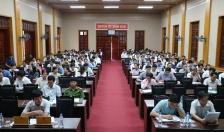 Huyện ủy Vĩnh Bảo: Tổ chức cán bộ nghe trực tuyến thực hiện các nghị quyết TW7