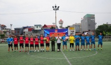 Chi đoàn Phòng PC64: Sôi nổi thi đấu bóng đá