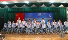 Công ty Bảo Việt nhân thọ Việt Nam: Trao 25 xe đạp tặng học sinh vượt khó học giỏi tại Vĩnh Bảo