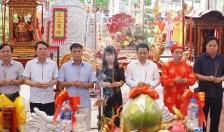 Lễ hội rước Ngũ linh từ huyện Tiên Lãng năm 2018