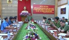 Triển khai phương án đảm bảo ANTT Lễ khánh thành cao tốc Hạ Long - Hải Phòng và cầu Bạch Đằng