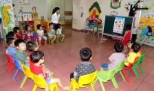 Huyện Tiên Lãng: Tỷ lệ huy động trẻ trong độ tuổi mầm non đến lớp thấp