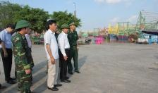 Phó chủ tịch UBND TP Nguyễn Văn Thành kiểm tra công tác phòng chống bão