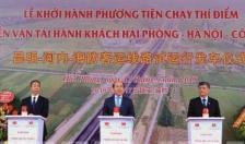 Khai trương thí điểm tuyến vận tải khách đường bộ quốc tế Hải Phòng – Hà Nội (Việt Nam) – Côn Minh (Vân Nam, Trung Quốc)
