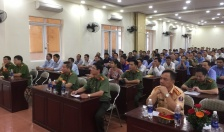 CATP: Khai giảng lớp huấn luyện nghiệp vụ gần 200 bảo vệ CQDN, trường học