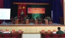 Huyện Tiên Lãng:  Khai mạc diễn tập khu vực phòng thủ huyện năm 2018
