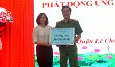 Quận Lê Chân:  Phát động Tháng cao điểm Vì người nghèo