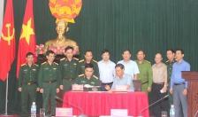 Bộ Quốc phòng bàn giao khu đất tại các phường Thành Tô và Tràng Cát (Hải An)