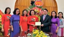 Lãnh đạo thành phố chúc mừng Hội Liên hiệp phụ nữ thành phố