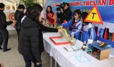 """Trường THCS An Đồng (huyện An Dương): Nhiều hoạt động sôi nổi Ngày hội Stem chuyên đề """"Ươm mầm  khoa học"""" cấp THCS năm học 2018-2019"""