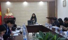 Giao ban công tác Thi đua - Khen thưởng Khối Mặt trận Tổ quốc và các tổ chức chính trị - xã hội