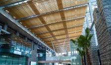 Thiết kế thân thiện với môi trường khiến sân bay sinh thái đẹp như resort